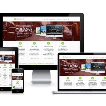 Web design portfolio: Silva Heeren