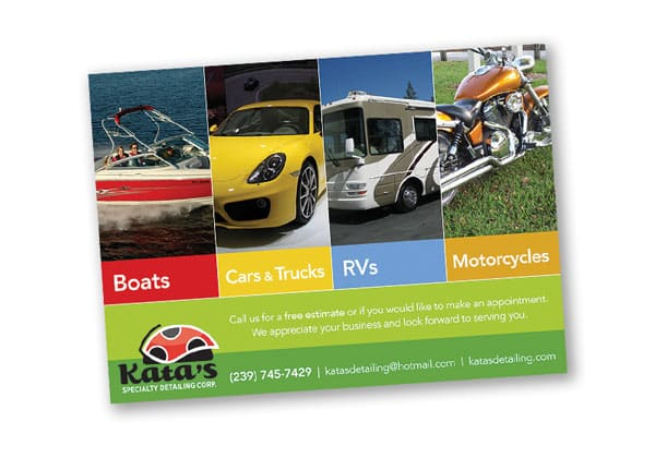 Graphic design portfolio car wash company